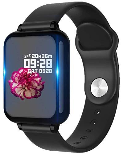 Bluetooth Smart Watch,Health & Fitness Tracker Smartwatch Blutdruck-Aktivitätsuhr, Anrufe SMS Benachrichtigung…