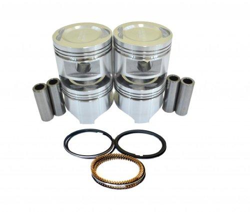 Diamond B2000 Mazda (Diamond Power Pistons w/rings works with MAZDA 626 2.0L SOHC TURBOCHARGED)