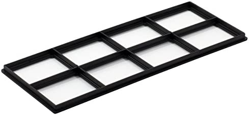 [해외]Decor Grates FRP410 Pristene Decor Grates Registers FRP410 / Decor Grates FRP410 Pristene Air Filter Retainer For Decor Grates Registers, 4 By 10, 4 Pack