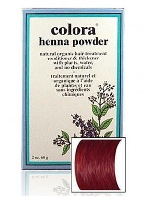 Natural Henna Hair Coloring Powder, Burgundy; 2oz