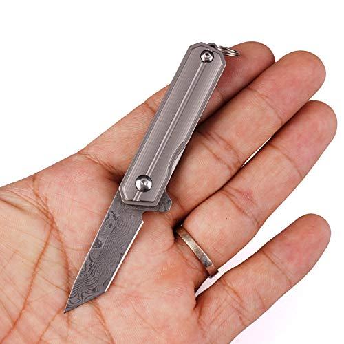 Handle Frame Lock Knife - Samior HY003 Mini Flipper Knife, 1.45