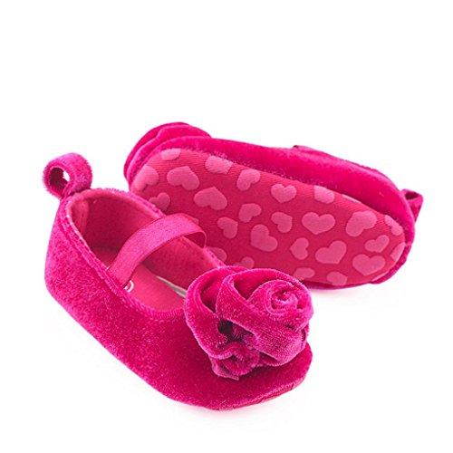 Pink Baby wuayi Hot Mädchen Lauflernschuhe 7nSCR
