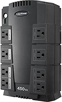 CyberPower SE450G 260W UPS 8-Outlets Battery Back Up System