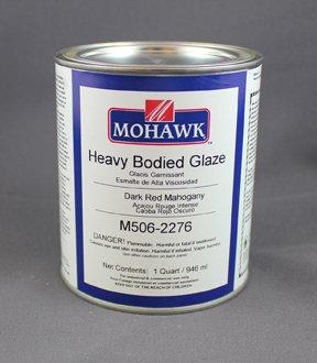 - Heavy Bodied Glaze Burnt Umber Qt