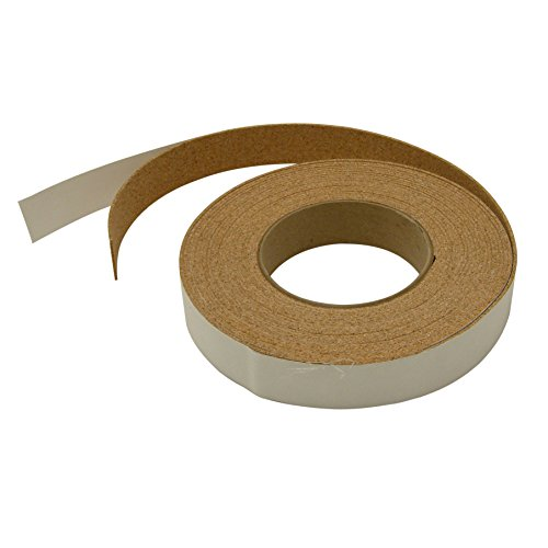 J.V. Converting CORK-1/LBRN125 JVCC Cork-1 Adhesive-Backed Cork Tape: 1