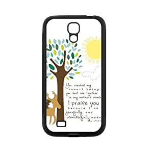 Custom Bible Verse Custom Back Cover Case for SamSung Galaxy S4 I9500 JNS4-490
