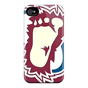 High Quality Cell-phone Hard Covers For Iphone 6 (yKf7612xhcV) Custom Fashion Colorado Avalanche Skin