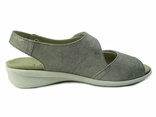 Solidus 7000020461 - Sandalias de vestir para mujer gris