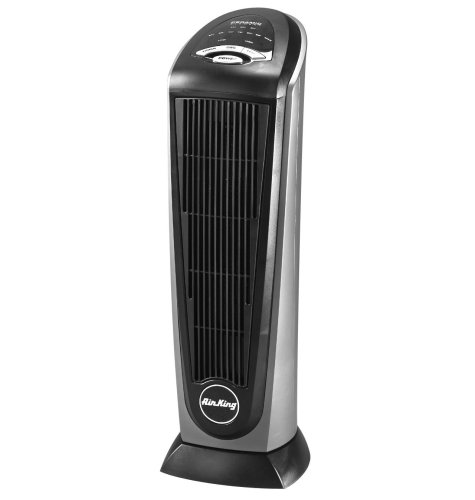 Air King 8132 Oscillating Ceramic Heater with Programmable Thermostat, 7-hour Timer and Remote Control from Air King