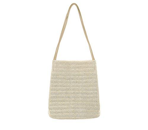 match Bags Grass Bag Deep Shoulder All Casual Bucket Woven Light Hand Meter Meters Bagehua 0Xq1ff