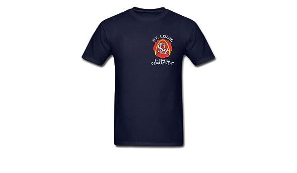 5947aa14a26 Fisher Sportswear St. Louis Fire Department T-shirt (Small)   Amazon.com