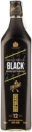 Johnnie Walker Black Label Whisky Escocés Edición Limitada para la 200 Aniversario, 700 ml