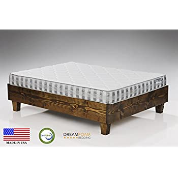 Ultimate Dreams Queen Crazy Quilt 7 inch TriZone Mattress