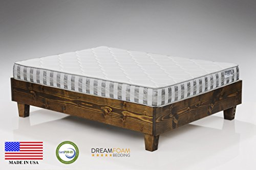 DreamFoam Bedding Ultimate Dreams Twin Crazy Quilt with 7-Inch TriZone ()