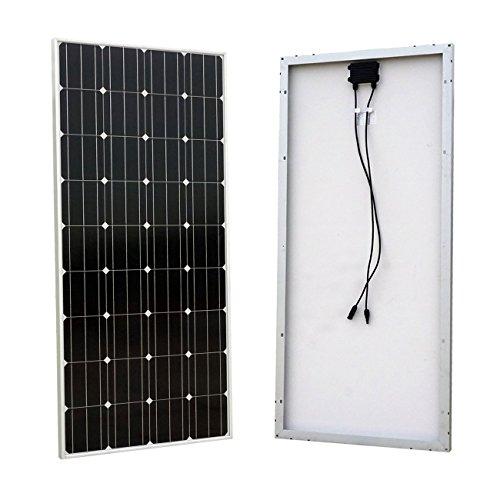 ECO-WORTHY-160-Watt-160w-Monocrystalline-Photovoltaic-PV-Solar-Panel-Module-12V-Battery-Charging