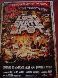 Dyrdek Collection - The Lost Skate Spot - Bob Dyrdek Orginal 27x40 Poster Mint Sdcc