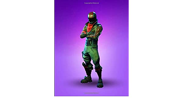 Fortnite - Burnout Ready For Trouble Notebook: College Ruled ...