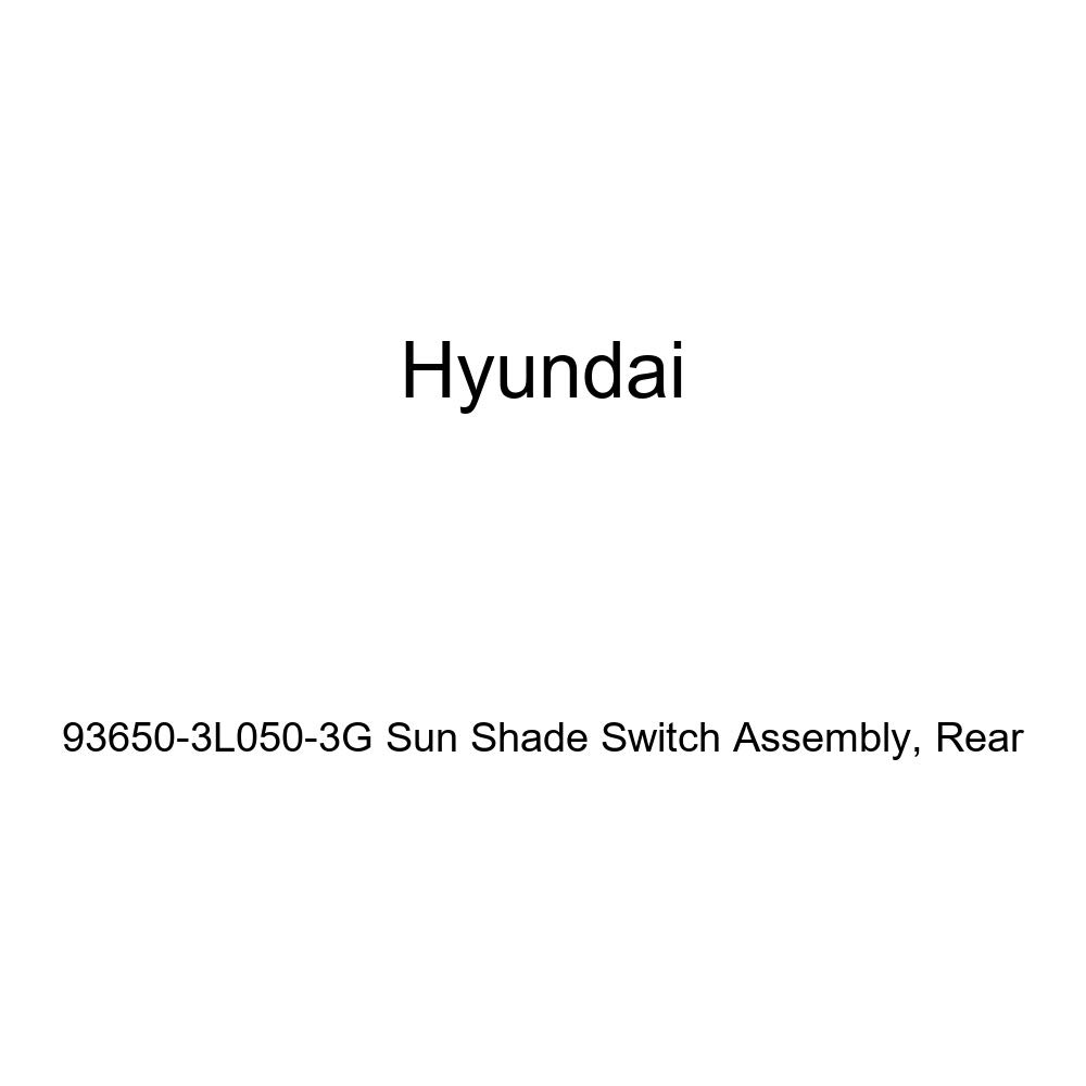 Genuine Hyundai 93650-3L050-3G Sun Shade Switch Assembly Rear