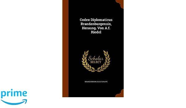 Codex diplomaticus brandenburgensis online dating