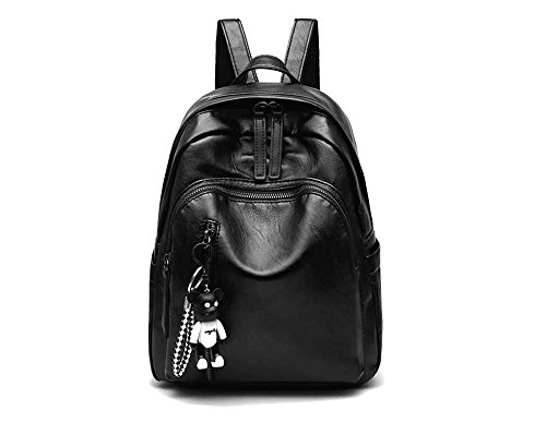 Number Big grande 32 fashionShoulde Rucksack 12CM 24 Women nero Bag Black New Numero wqxpgnXYTY