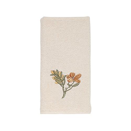Avanti Linens Alana Fingertip Towel, Ivory ()