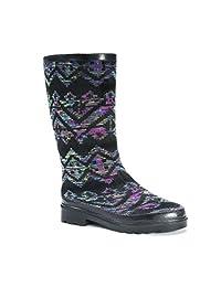 MUK LUKS Anabelle Botas de Lluvia para Mujer Zapatos para Lluvia para Mujer