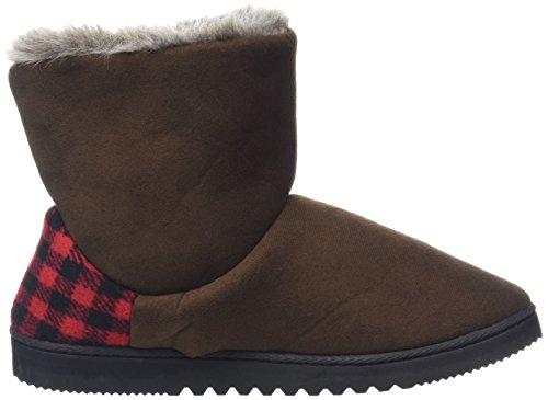 DearfoamsTwo-button Boot With Memory Foam - Zapatillas bajas para mujer Marrón (Espresso 00205)