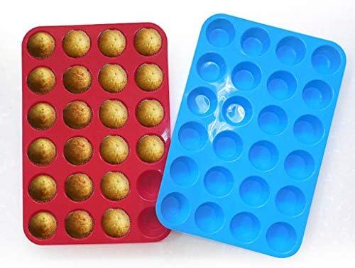 Molde de silicona para cupcakes de TUU 24, para fondant ...