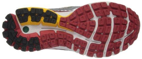 Browar Timing Systems Ghost 6 - Zapatillas de running Hombre Black/White/LavSilver/Citrus