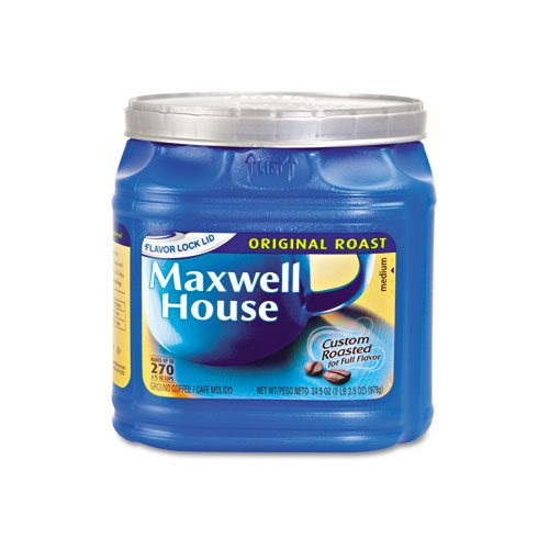 043000029411 - Maxwell House Original Ground Coffee, 34.5 Ounce (Pack of 6) carousel main 1