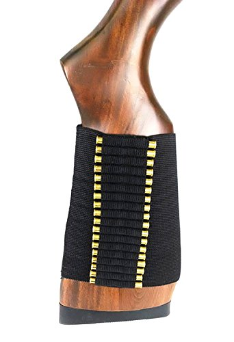 Accessories Hmr 17 (US-DEALS 72 Rounds .22 Ruger 10/22 Elastic Buttstock Rifle Shell Holder Stock Ammo)