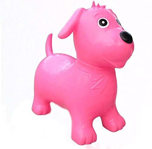 Happy Hopperz Pink Dog Bouncer