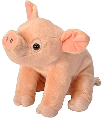 Wild Republic Pig Baby Plush, Stuffed Animal, Plush Toy, Kids Gifts, Cuddlekins, 12 Inches