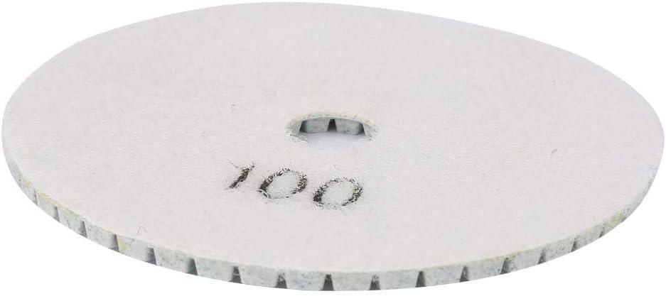 Huairdum Almohadilla de Pulido de Diamante Herramienta de Pulido en h/úmedo de Pulido de m/ármol de Granito del Disco de Granito del coj/ín de Pulido de Diamante #2