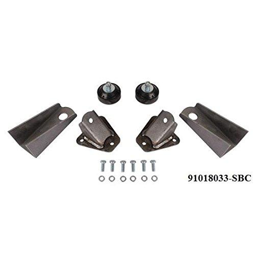 Universal GM LS Steel Engine Mount Kit-Pads/Cushion/Hardware