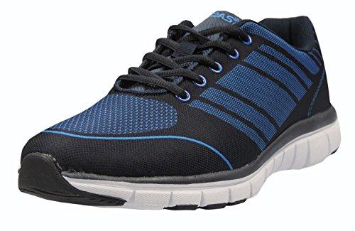 Boras 3186 Sneaker Textil Schwarz/Blau