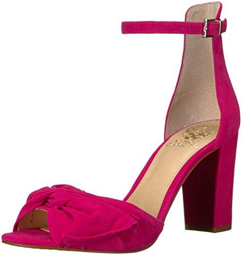 Vince Camuto Women's Carrelen Heeled Sandal, hot Berry Pink, 8 Medium US