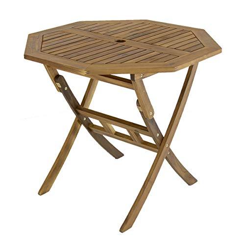 Bentley Table Fsc Dur Garden Octogonale Certifié Jardin Bois De Pliable ym6gYbfvI7