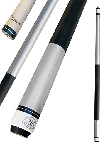 Champion ST5B Silver Billiards Maple Pool Cue Stick, Champion Sport Co Billiards Glove, Retail Price: $75 (12 mm, 21 oz)