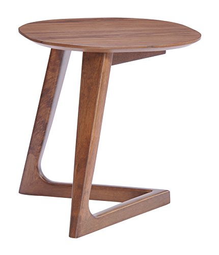 Side Modern Zuo Table (Zuo Park West Side Table Walnut)