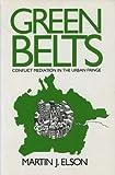Green Belts, Martin Elson, 0434905321