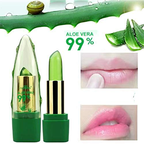 FORUU Women's Lipstick, 2019 Valentine's Day Surprise Best Gift For Girlfriend Lover Wife Party Under 5 Free delivery Natual Jelly Change Color Temperature Moistourizing Lip ()
