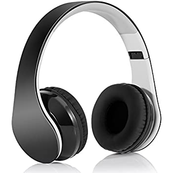 148bdc576c5 Bluetooth Headphones Wireless Headset Over Ear - Foldable Hi-Fi Stereo  Headset with Built-in Mic, Comfortable Earpads, 15Hours Playtime, for  Cellphones/ TV/ ...