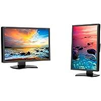 24 NEC WideScreen P242W FullHD 1920x1200 VGA DVI DisplayPort USB LED LCD Professional Monitor Black P242W-BK