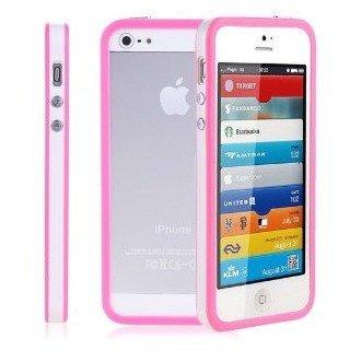 itronik 8x Bumper für Apple iPhone 5 (1x schwarz , 1x gelb , 1x pink, 1x rot , 1x blau , 1x orange, 1x dunkelblau, 1x lila) Bumpers Tasche Case Hülle Schale Schutzhülle