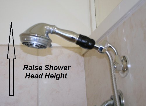 Suction Cup Shower Head Holder Shower Head Adapter