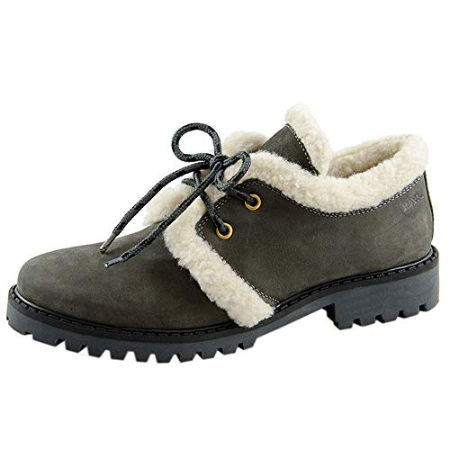 Chaussures Ville Gris Femme À De Pour Lacets Marc FT81xF