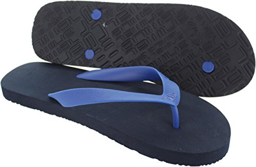 Flops UK Animal Dark Costaz Animal Costaz 10 Flip Flip Flops Navy Yww1zqp