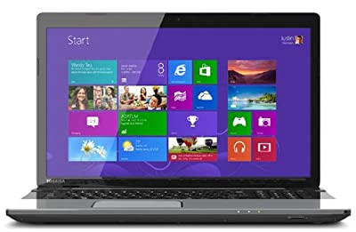Toshiba PSKNJU-004001 17-Inch L75D-A7283 Laptop (1.5GHz AMD Quad-Core A4-5000M Accelerated Processor 6gb Ram 750gb HDD, Windows 8)