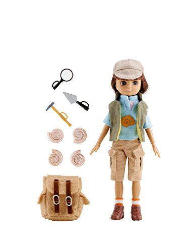 Lottie Fossil Hunter Doll (Teenage Girl With Brown Hair And Blue Eyes)